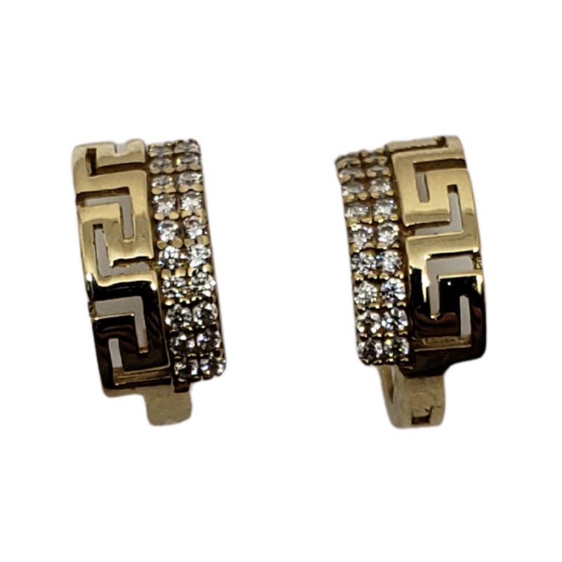 10k Yellow Gold Huggies Earring BD-0025