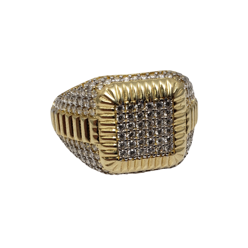Gentile Gold Ring for Men MR-073