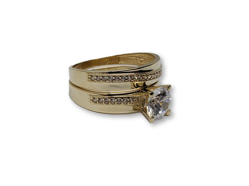 Gold Ring for Women 10K WCR005