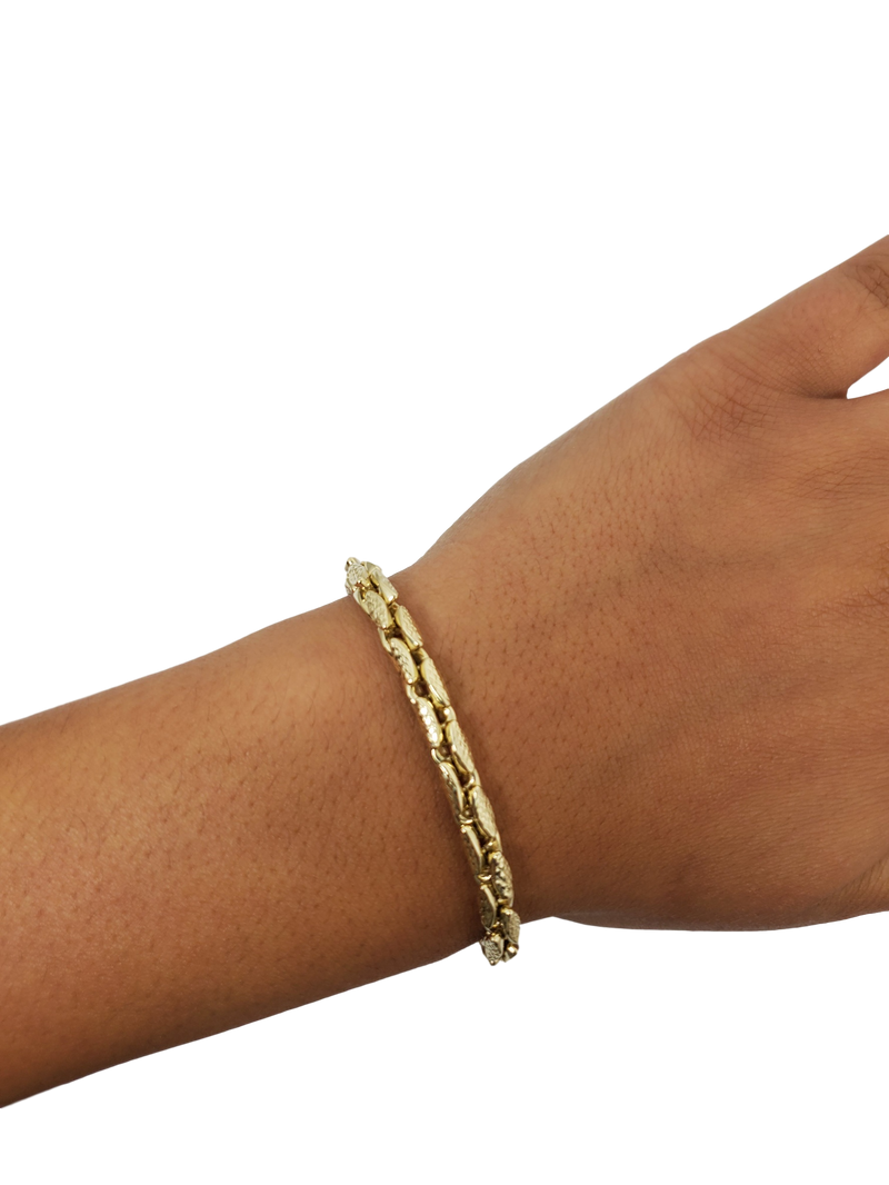 Bracelet 5.2mm 10k Gold MMB-003
