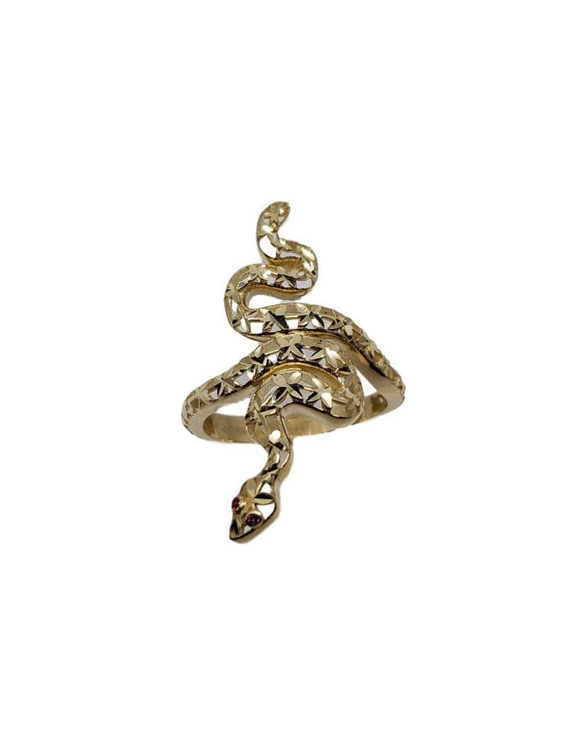 Serpent Ring in Gold for Women 10K WR004
