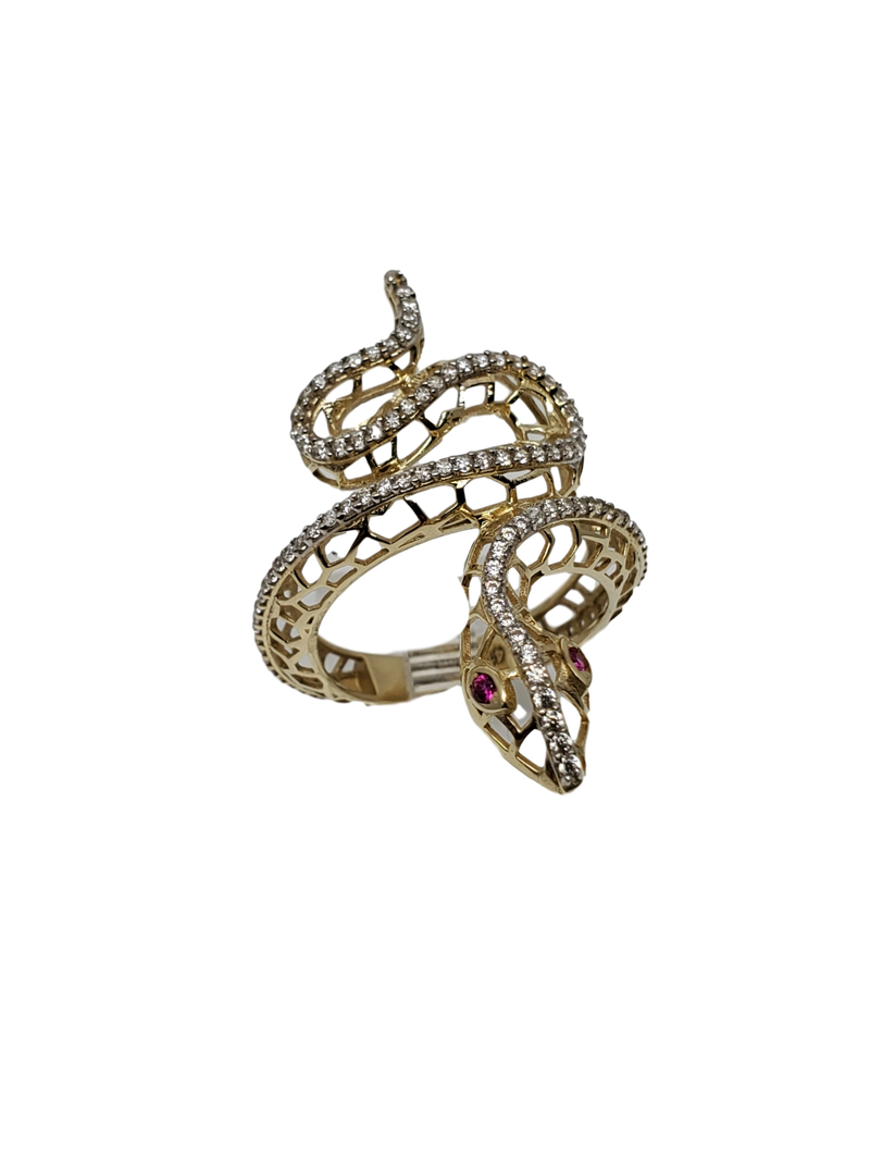 Serpent Gold Ring for Women 10K WR005