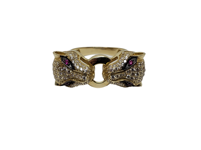 Jag Ring in Gold for Women 10K WR003