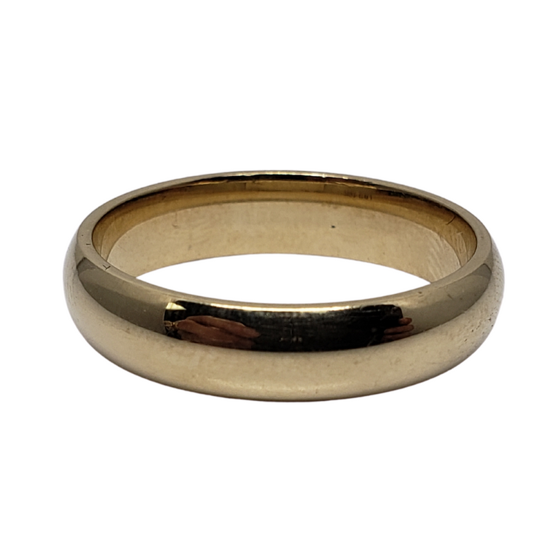 Wedding Band Ring in 10k Yellow Gold WGB-025