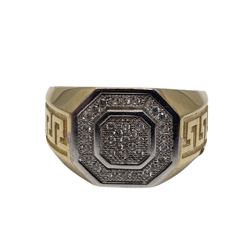 Fleance Gold Ring for Men MR-065