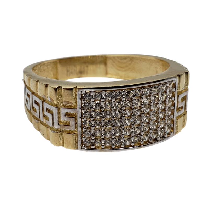 Parisi Gold Ring 10k for Men MR-127