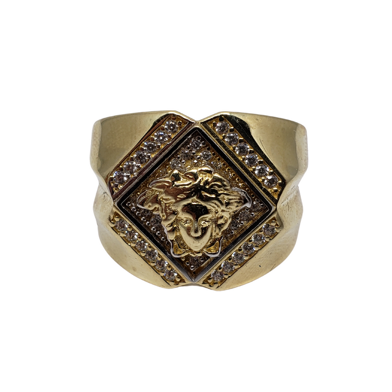 Leone Gold Ring 10k for Men MR-091