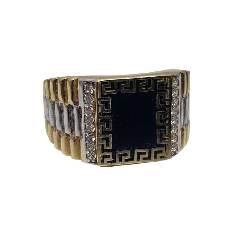 Gioacchino Gold Ring for Men MR-077
