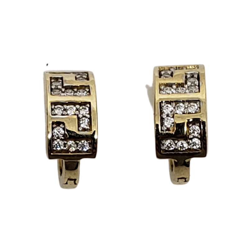 10K Yellow Gold Huggies Earring BD-0015