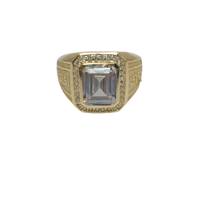 Greek Design Gold 10k Ring mb-508