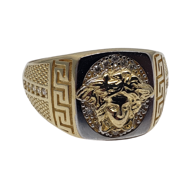 Borachio Gold Ring for Men MR-027
