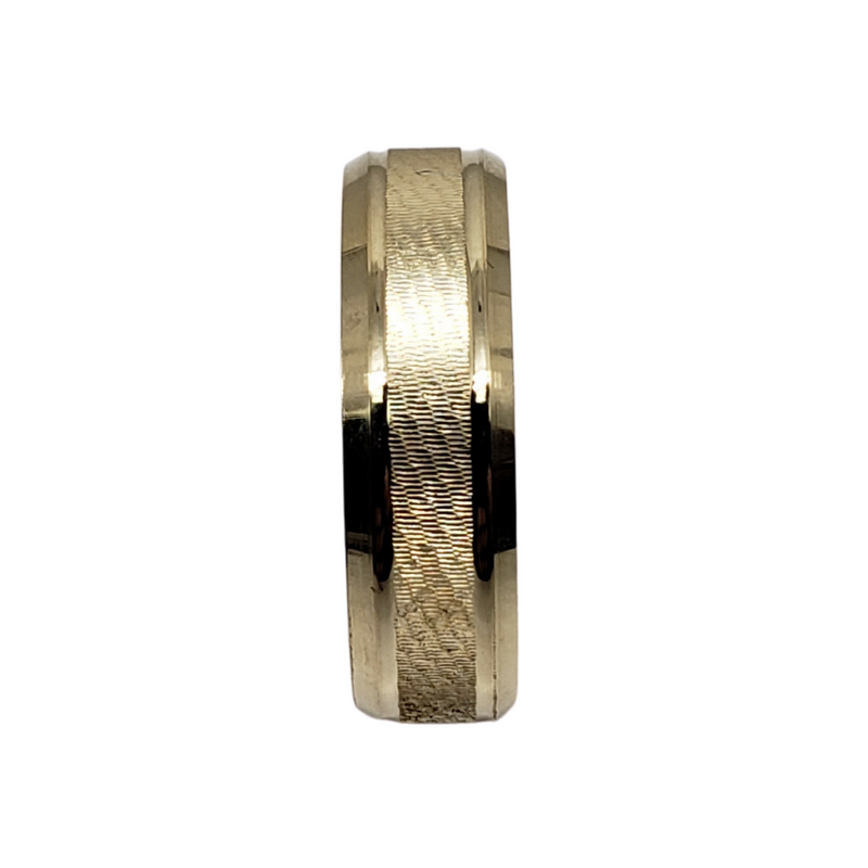 Wedding Band Ring in 10k Yellow Gold WGB-006