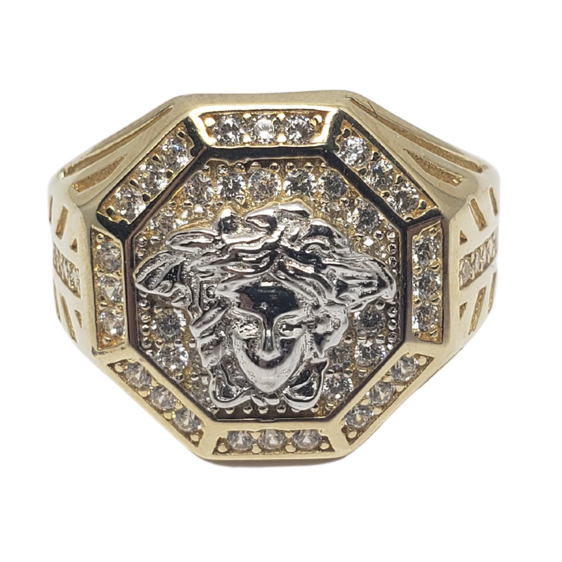 Zunino Gold Ring for Men MR-059