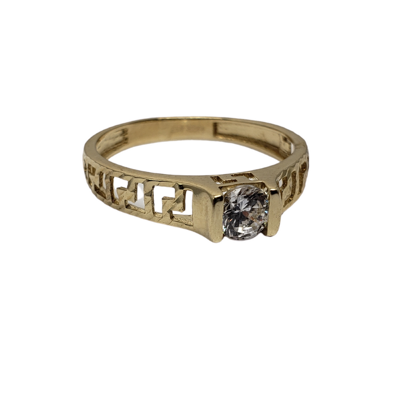 Lucia Gold Ring 10k for Female WR039