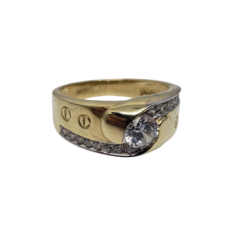 Nino Gold Ring 10k for Men MR-117