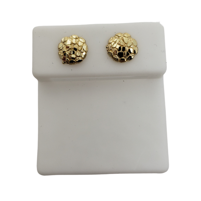 Yellow Gold Stud Earring BD-0032
