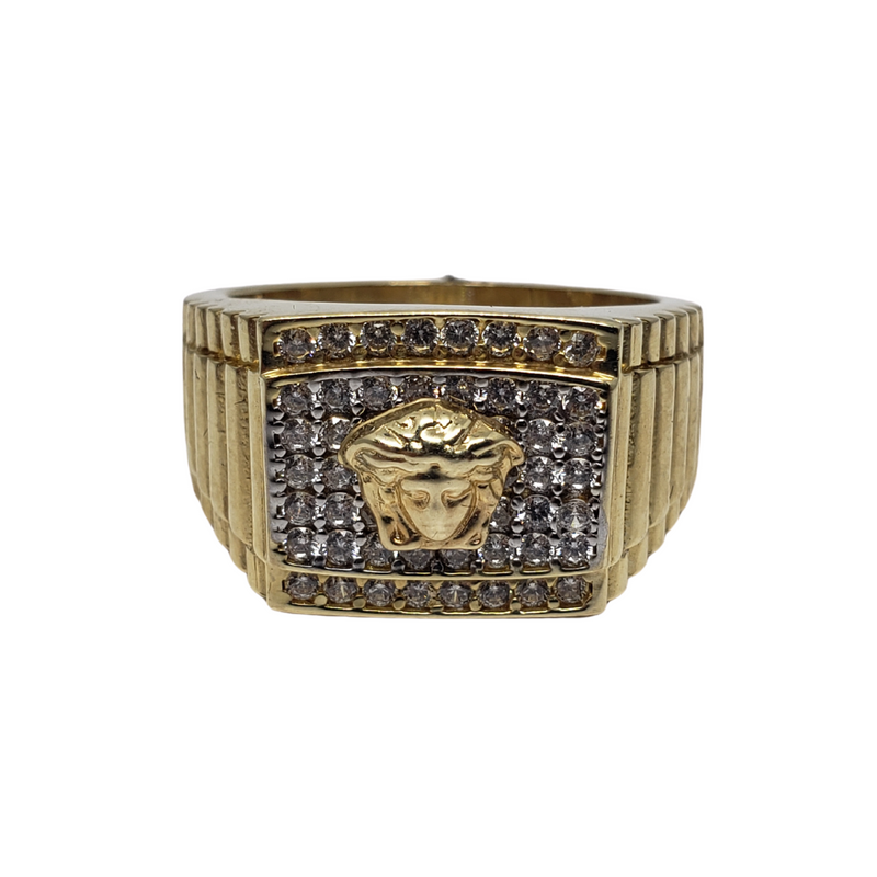 Giancarlo Gold Ring for Men MR-074
