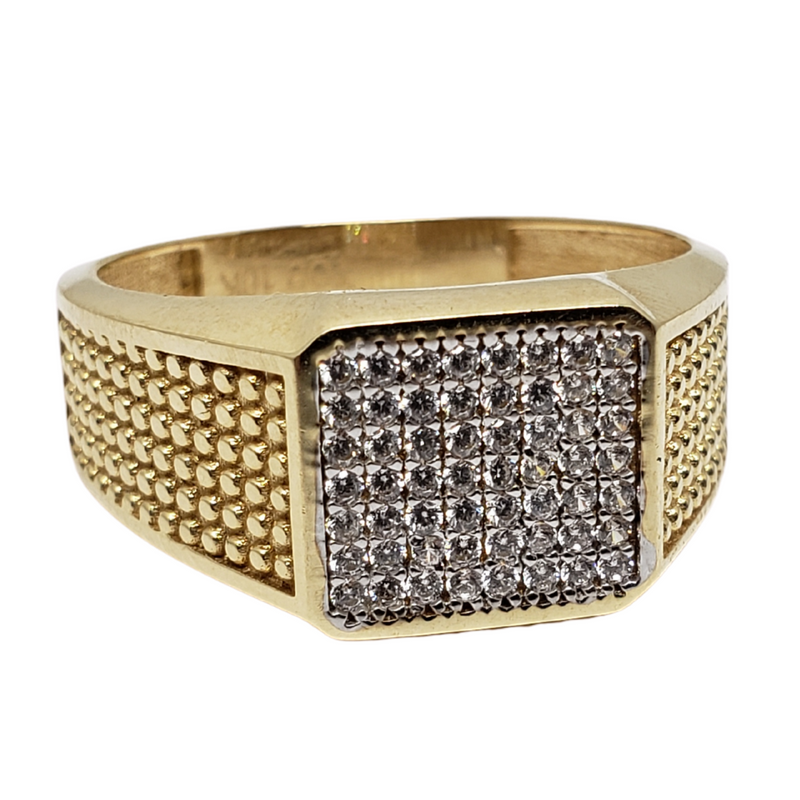 Ricci Gold Ring 10k for Men MR-143