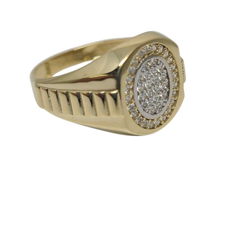 Rolly Gold 10k Ring YYY-001