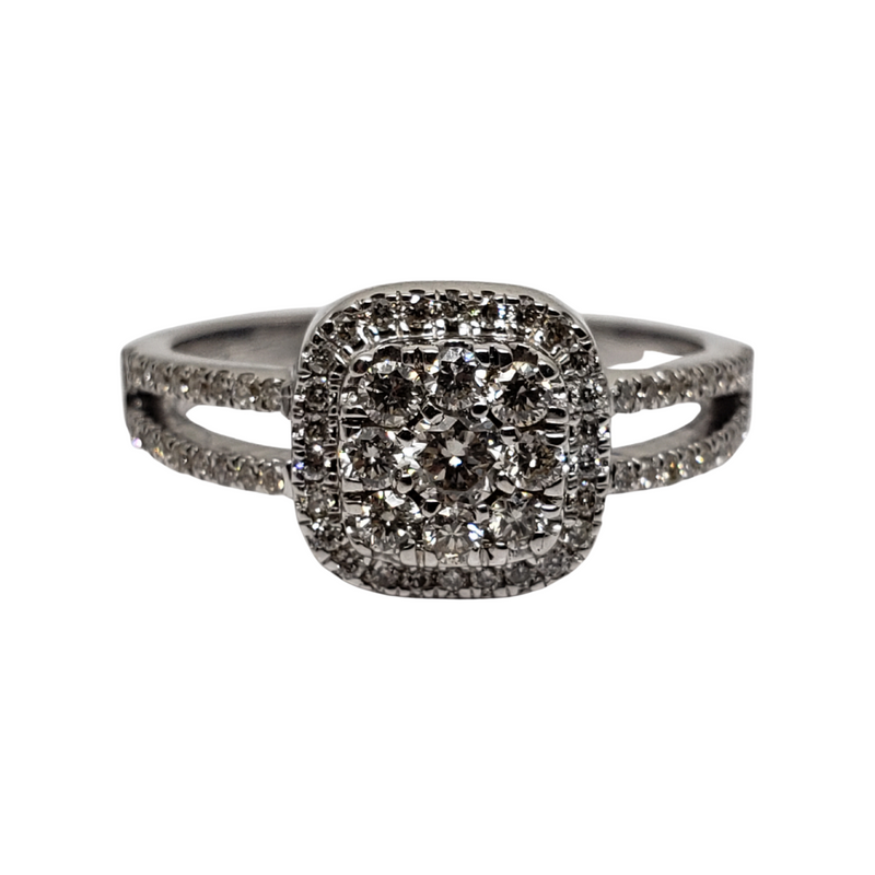 Diamond Ring  in 10k White Gold SR 0011-WG
