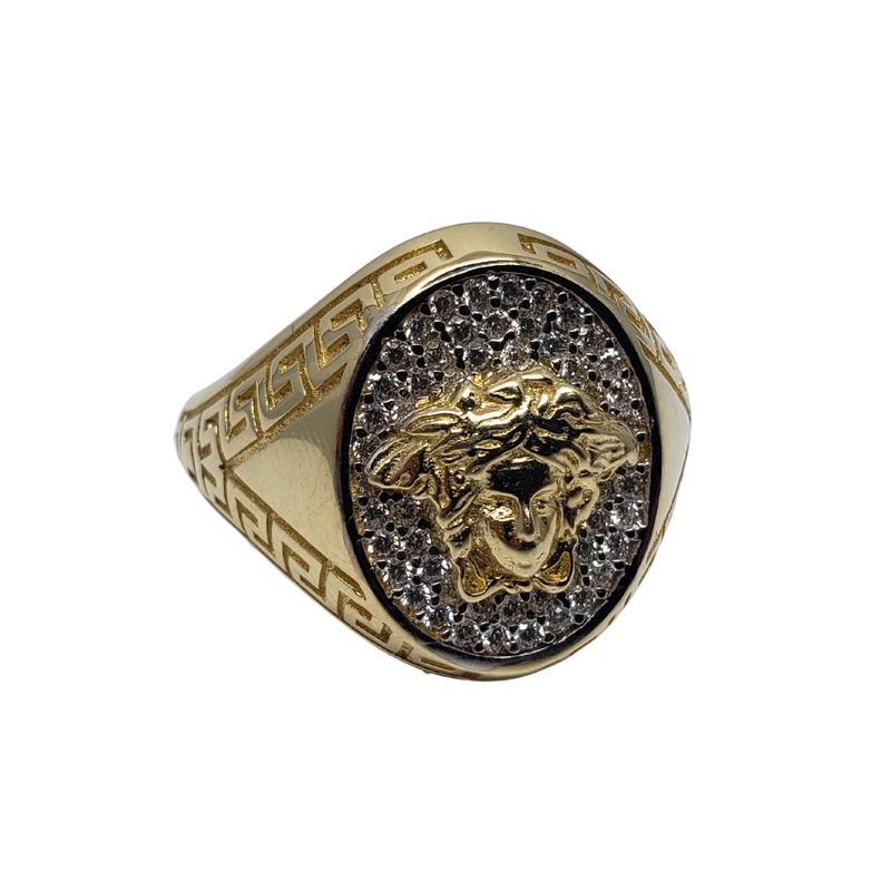Gino Gold Ring for Men MR-076