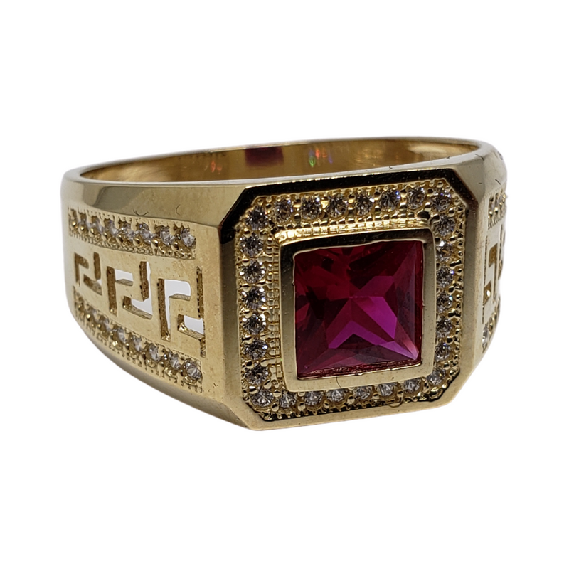 De Santis Gold Ring for Men MR-038