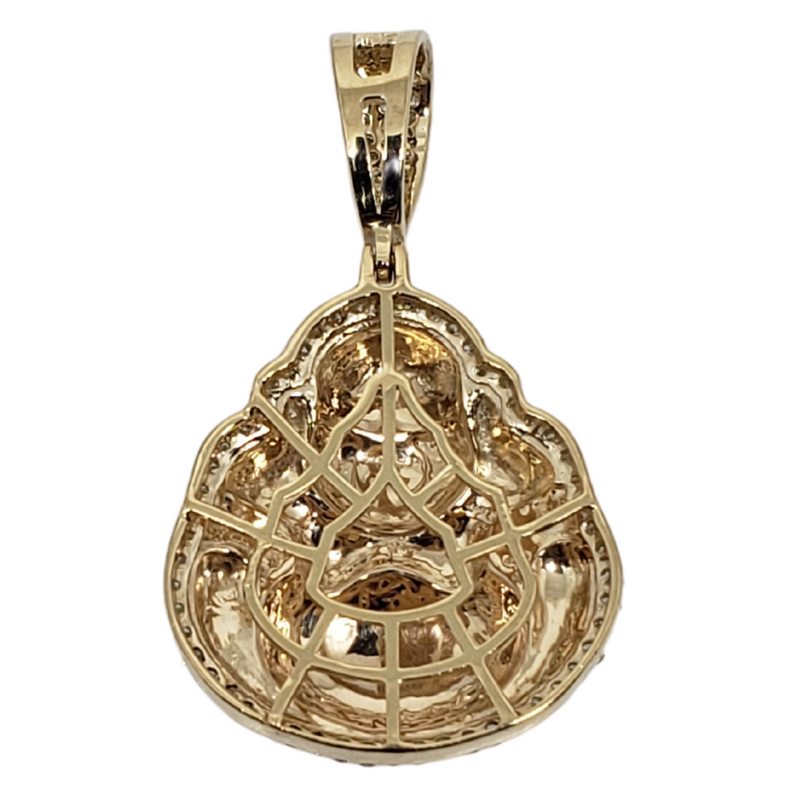 Bhouda 0.38ct Gold Pendant in 10k Gold SP 10871