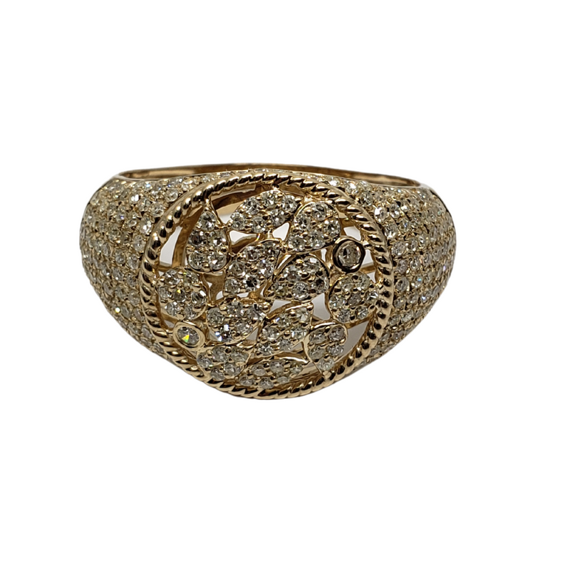 Diamond Ring  in 10k Yellow Gold SR SR 12089