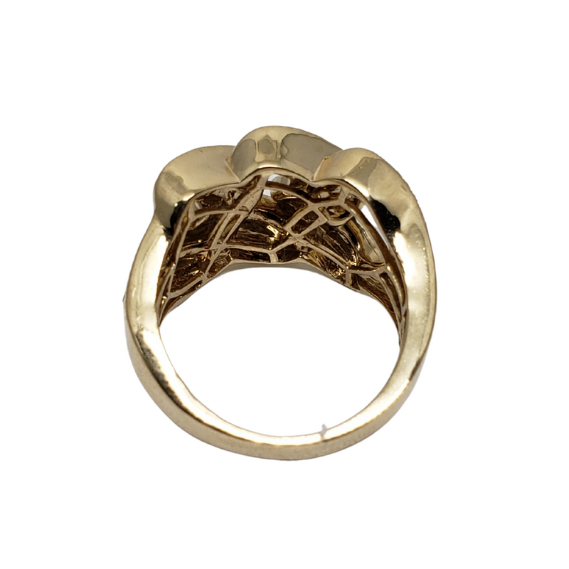 Diamond Ring  in 10k Yellow Gold  SR 14357(7.2)