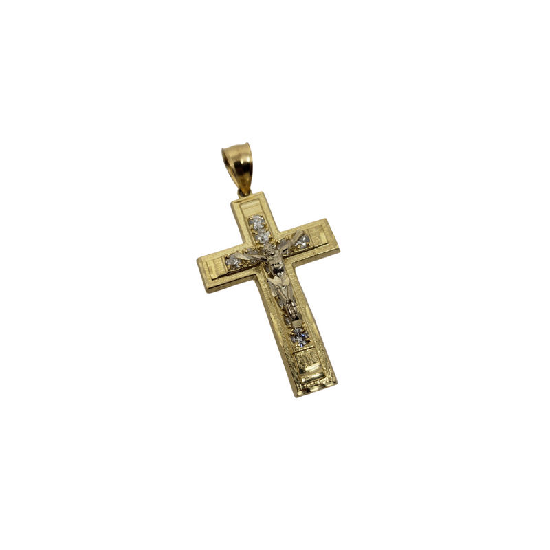 Cross Pendant in 10k Gold CP014