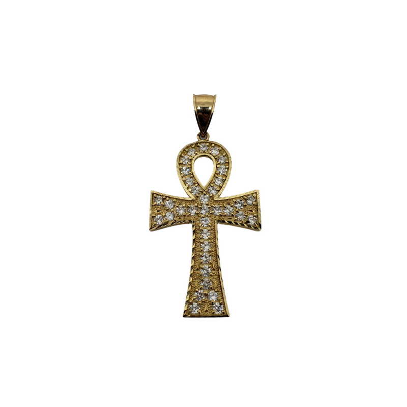 Cross Ankh Pendant in 10k Gold CP003