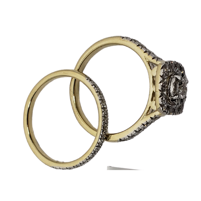 Diamond Ring 1.00ct in 10k Yellow Gold SKR20634-100N