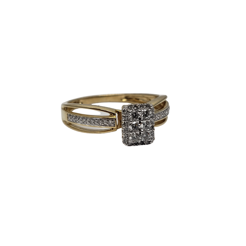 Athena 14K Diamond Ring For Her BUR-385