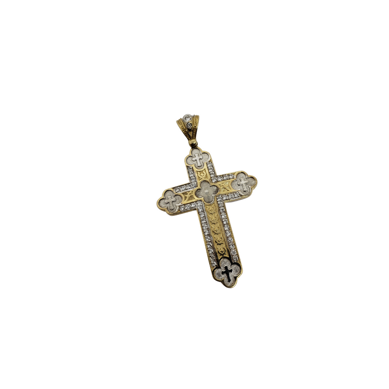Cross Pendant in 10k Gold CP015
