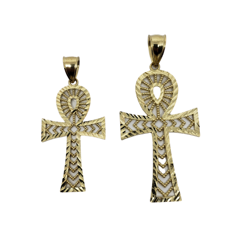 Cross of Life Pendant in 10k Gold CP024