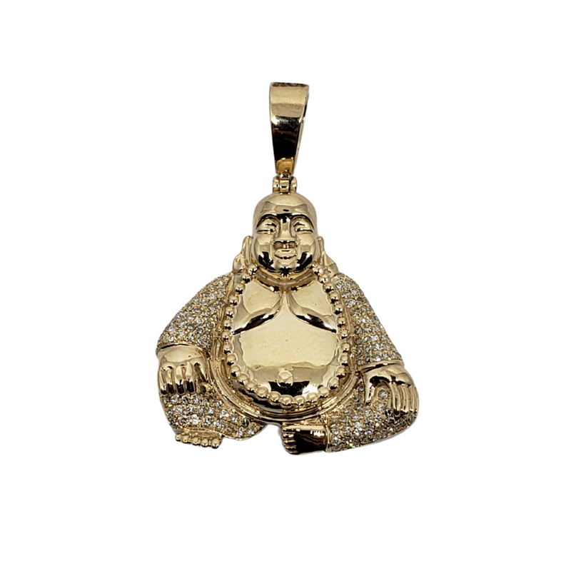 0.33ct Gold Pendant in 10k SP 11360