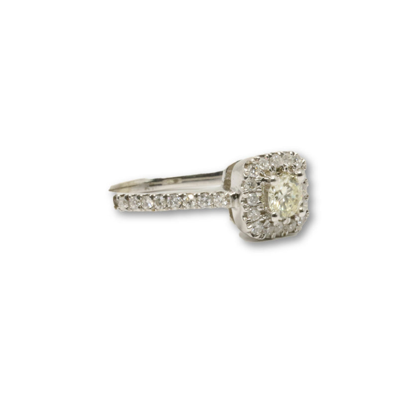 Bague Galatea 0.90ct diamants en or 10k - orquebec