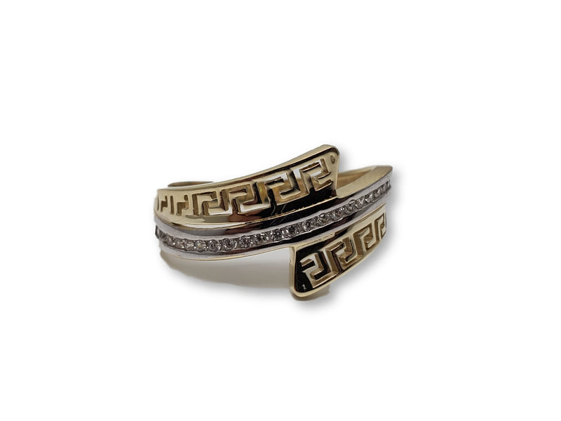 Medusa Ring in Gold for Women 10K Y-0128