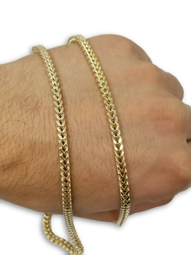Franco Chaine Pour Lui en or 10 karat 4mm | For Him Franco Chain 4mm in Gold 10kt-Gold Custom