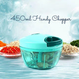 Gujjufactory 450ml Handy Chopper (Multicolour)