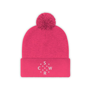 Chicago Stars SRCW - Embroidered Pom Pom Beanie - Winter Hat
