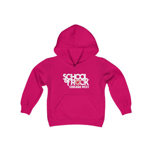 School of Rock Chicago West - Youth Heavy Blend Hoodie