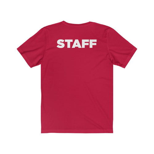 STAFF School of Rock Chicago West - Unisex 100% Soft Cotton T-shirt