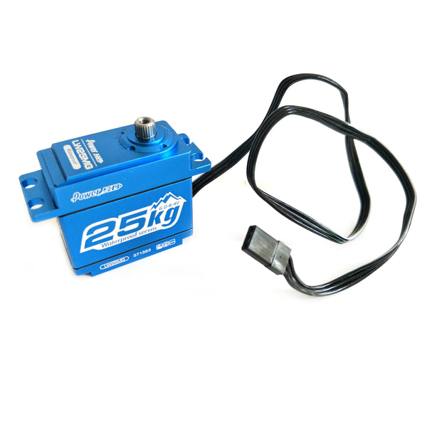 Power HD LW25MG Waterproof Servo 40.7x20.5x38.6 mm