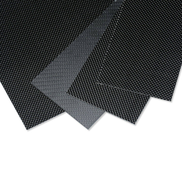 100x500x0.3mm Carbon Fiber Plate/Panel/Sheet  3K Plain Weave Glossy Surface