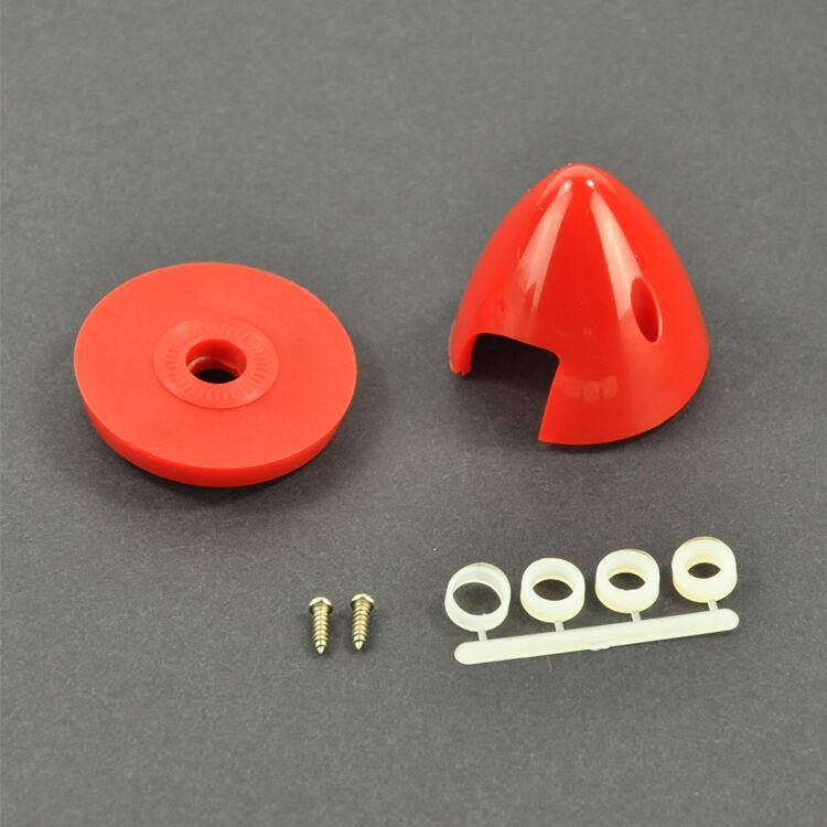 1.5inch/38mm Plastic Spinner  For RC Gas Airplane 2 Blades Propeller