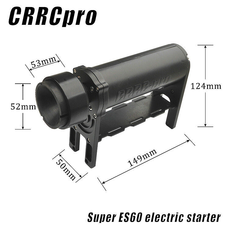 CRRCpro Electric Starter for 15-62CC Gasolin/Nitro Engine