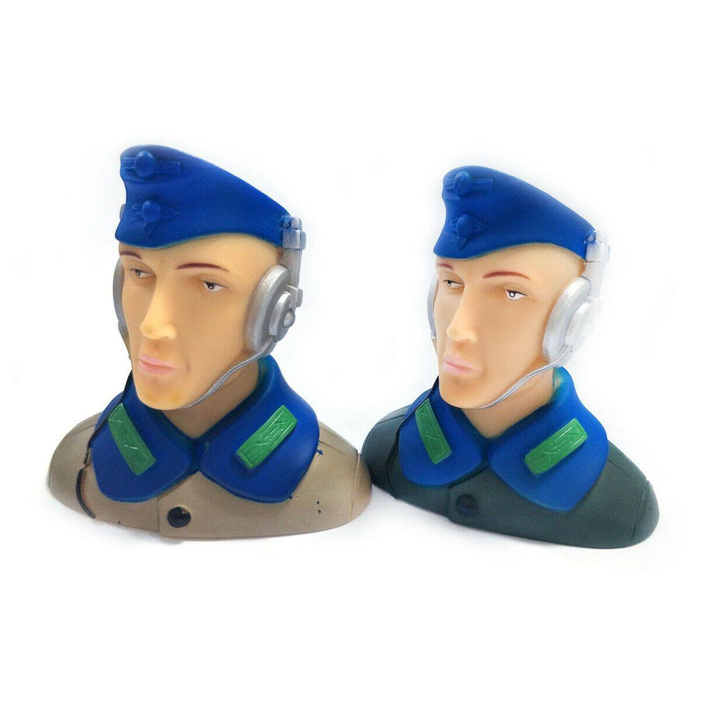 1/6 Scale Pilots Figures L68*W41*H70mm Brown /Army Green
