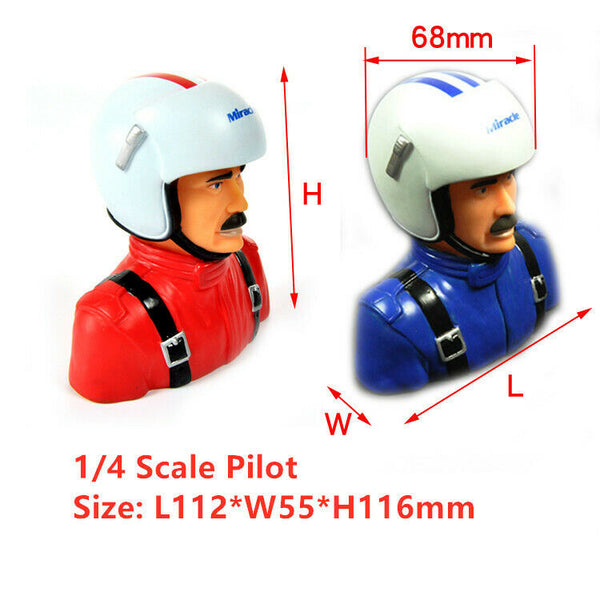 Miracle 1/4 Scale Sam Pilot Model L112*W55*H116mm