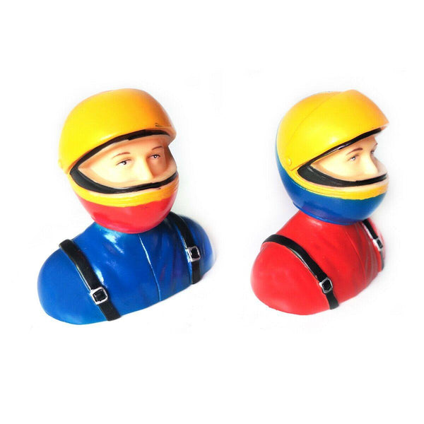 1/6 Scale Pilots Figures  L64*W40*H69mm Red or Blue